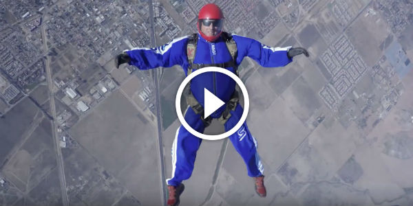 Stuntman Luke Aikins BROKE THE LIMITS OF POSSIBILITY And Jumped At Lethal 7 KM Height WITHOUT A PARACHUTE OR A WINGSUIT!!!