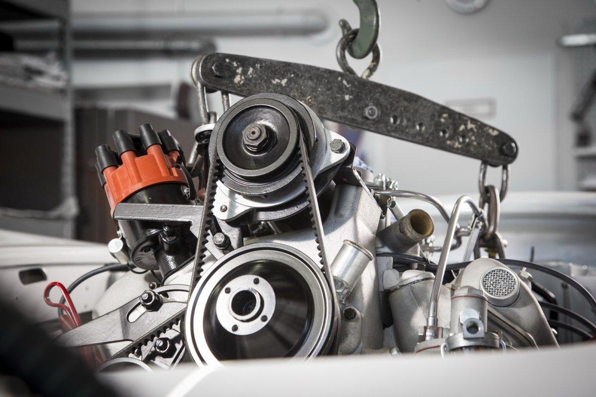 Bmw 507 Elvis Presley New Engine Closer View