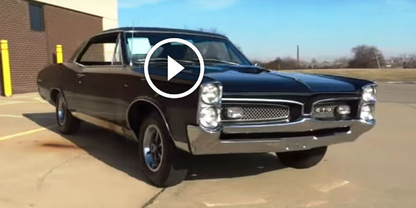 SUPER CLEAN 1967 Pontiac GTO With Sharp Looks And Bad Attitude! That's OLD SCHOOL AMERICAN MUSCLE!!!