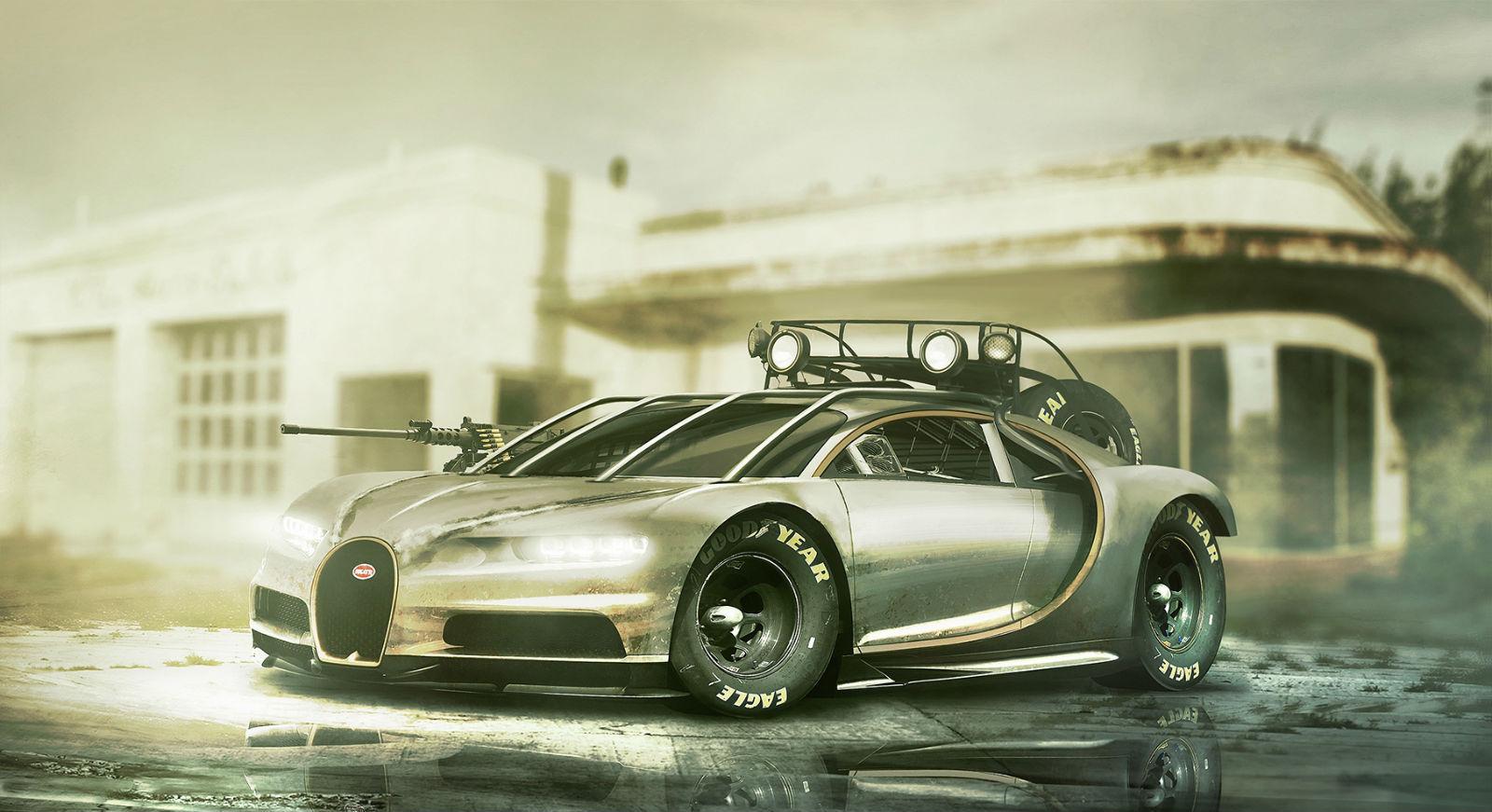 Bugatti Chiron Front Three Quarters No Car No Fun Muscle Cars And