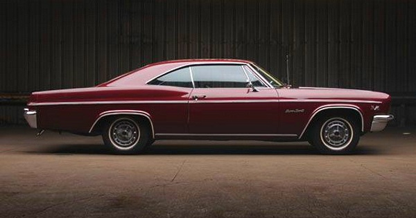 Chevy Impala Ss Sport Coupe Side View No Car No Fun Muscle Cars