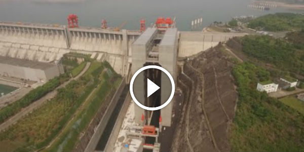 The World's LARGEST SHIP ELEVATOR With CAPACITY OF 3,000 TONS Opened at Three Gorges Dam in Central China!!!