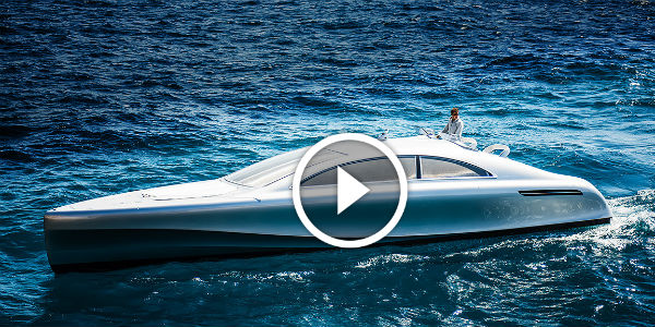 Mercedes Unveils The BEAUTIFUL & LUXURY $1.7M Mercedes Benz Arrow460 Granturismo Motor Yacht! Only 10 PEOPLE In The WORLD Will Be Able To Buy It!