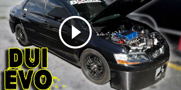 MONSTER 1000+Hp Mitsubishi Lancer Evolution Showing WHO'S GOT THE SKILLS And Guts On The Drag Strip!!!
