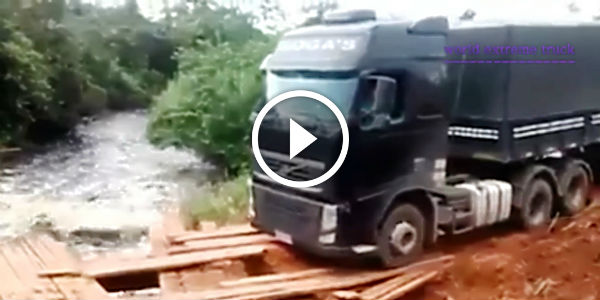 Most Amazing Truck Drivers In The World Facing Deadly Hazards Some Are Easy To Me Some Are Wow