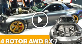 Unveiling the World's First AWD 4 Rotor Mazda RX7