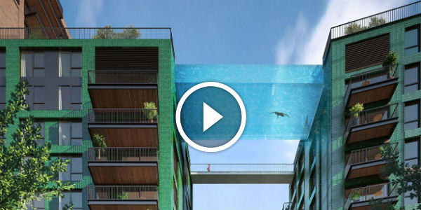 10 Most AWESOME SUSPENDED Pools Built For The ULTIMATE PLEASURE And Relaxed Leisure!