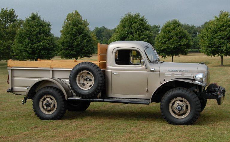 1946 Dodge Power Wagon Side View