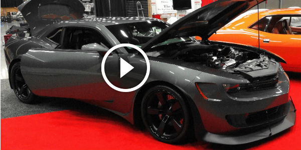 1500 Hp Wide Body Camaro At 2016 Pigeon Forge Rod Run