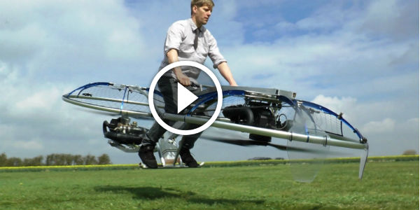 Colin Furze S Homemade Hoverbike Is Super Cool The Mad