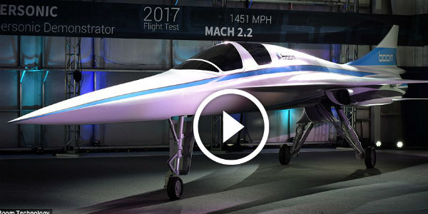 Richard Branson-Backed MINI CONCORDE AIRPLANE That Can Fly From London To New York IN 3.5 HOURS Is Unveiled!!! Meet 'BABY BOOM'!