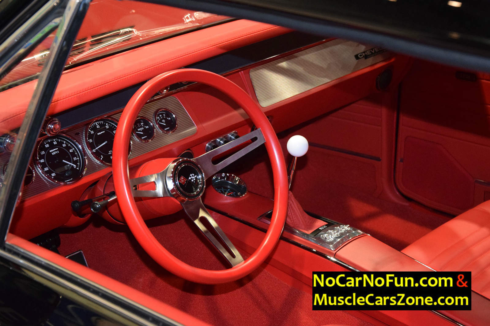Roadster Shops Onyx 1967 Chevelle At Sema 2016 Interior
