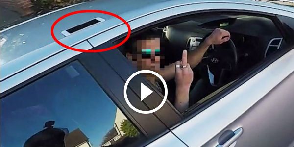 Biker Who Tried To Help Gets His OWN COLD REVENGE On An UNGRATEFUL JERK In A Car!