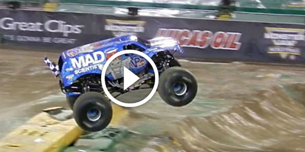 Lee O Donnell Wins Monster Jam World Finals With An