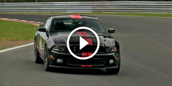 Hear The Roaring Sound Of The Pony !!! Brutal Shelby GT500 SVT Track Package With Roush Performance Exhaust System!!!
